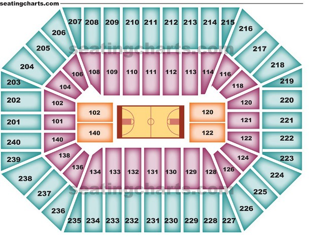 Minnesota Timberwolves Seating Chart For Target Center