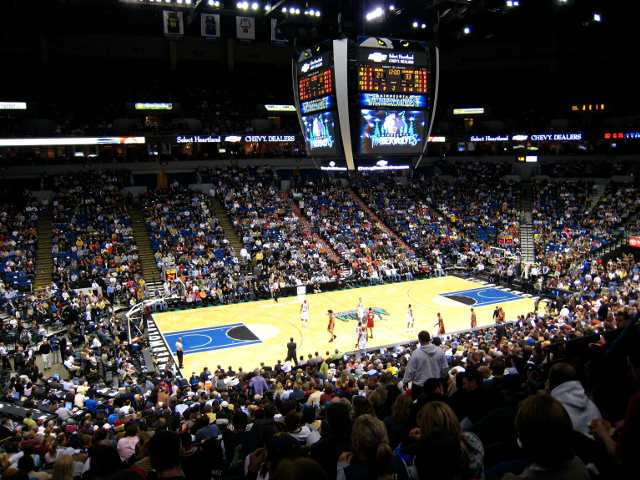 Minnesota Timberwolves Upper Seats